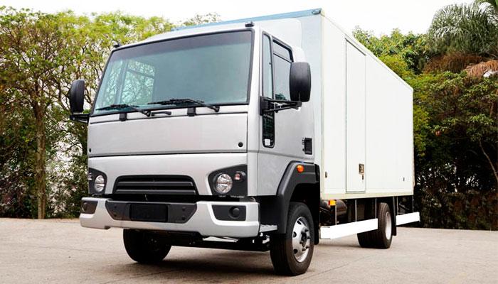 Tipos de caminhões para cargas leves